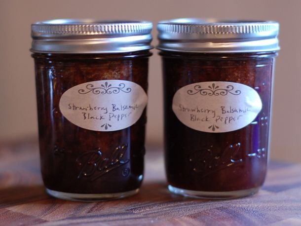 Strawberry-Black Pepper Jam