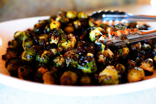 Tom's Balsamic Brussels Sprouts with Cranberries