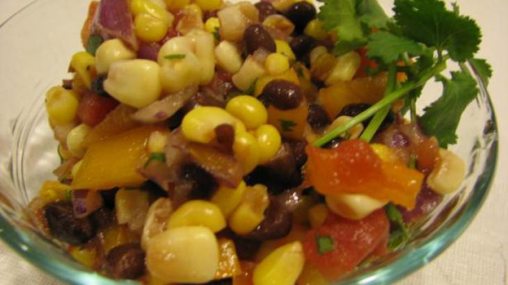 Tom's Black Bean and Corn Salsa