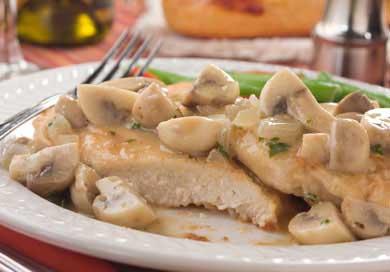 Tom's Mushroom Herbed Chicken