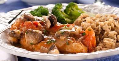 Tom's 5 Star Mushroom Chicken