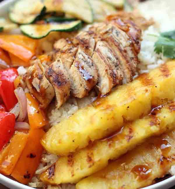 Tom's Grilled Hawaiian Chicken Teriyaki