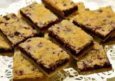 Tom's Huckleberry Bars