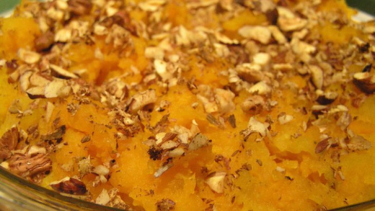 Tom's Maple Baked Squash