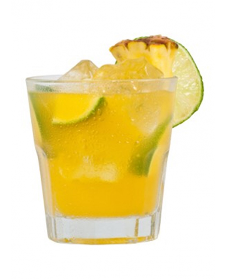 Tom's Pineapple Coconut Caipirinha