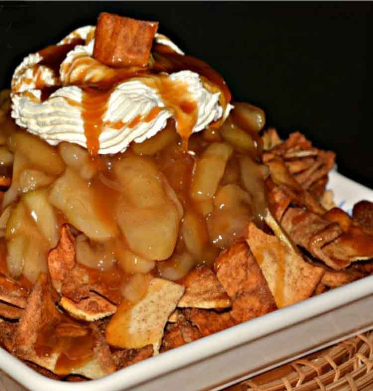 Tom's Apple Pie Nachos
