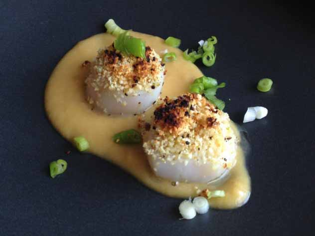 Tom's Apple Onion Scallops