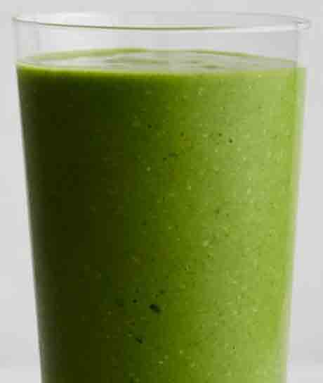 Tom's Pineapple Coconut Avocado Kale Power Smoothie