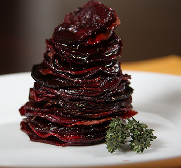 Tom's Roasted Beet Stack