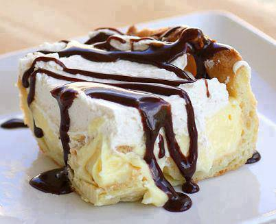 Tom's Chocolate Eclair Cake