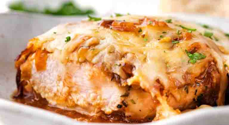 Mama Celia's French Onion Chicken