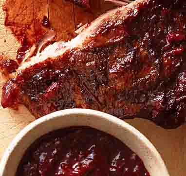 Tom's Huckleberry BBQ Sauce