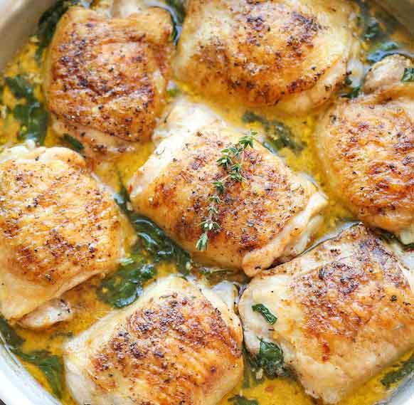 Tom's Lemon Butter Chicken