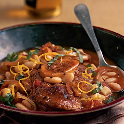 Tom's Osso Buco with Balsamic Onions
