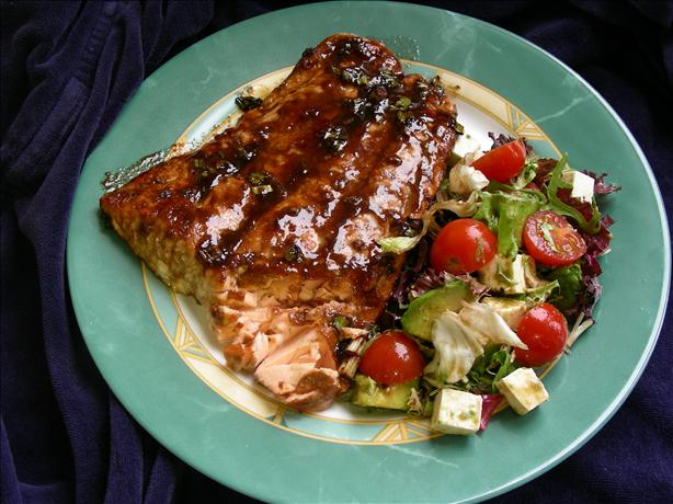 Tom's Fantastic Grilled Salmon