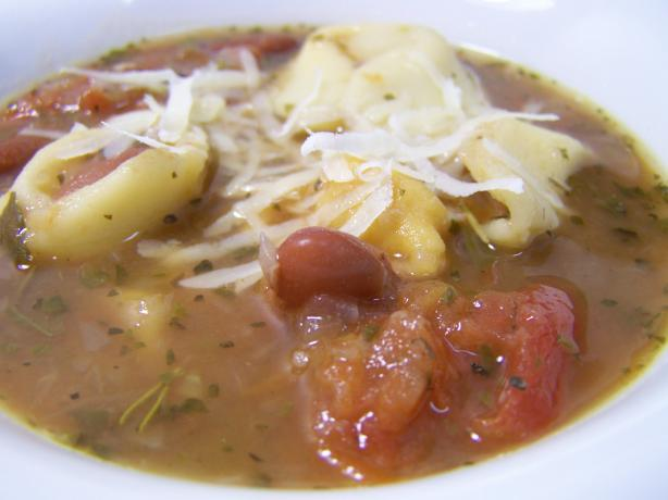 Celia's Tortellini Soup