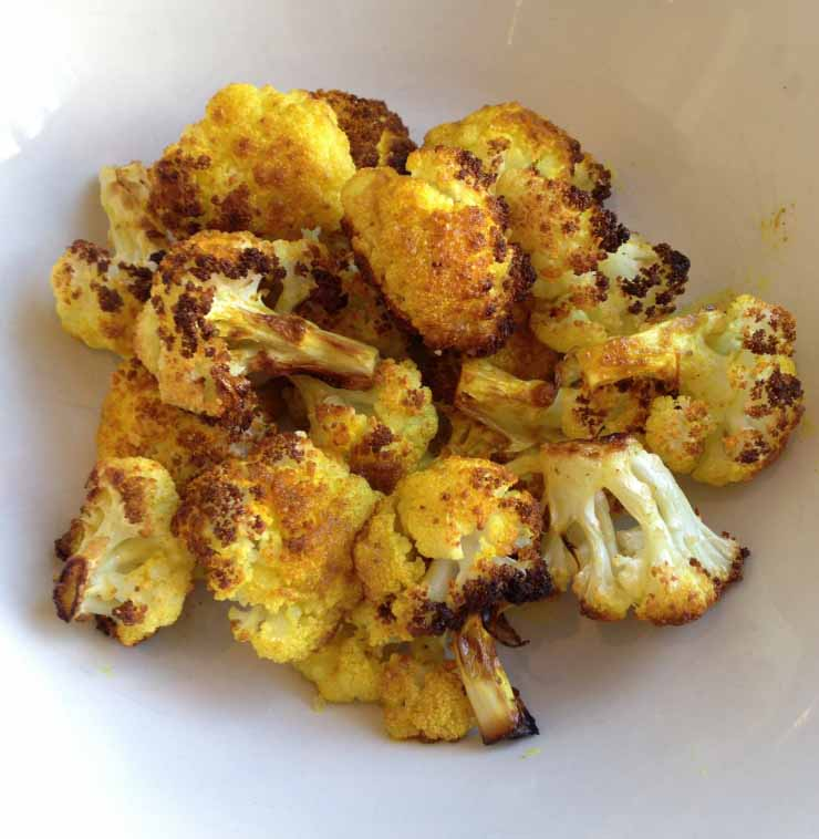 Tom's Spicey Popcorn Cauliflower