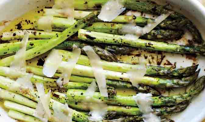 Tom's Easy Roasted Asparagus