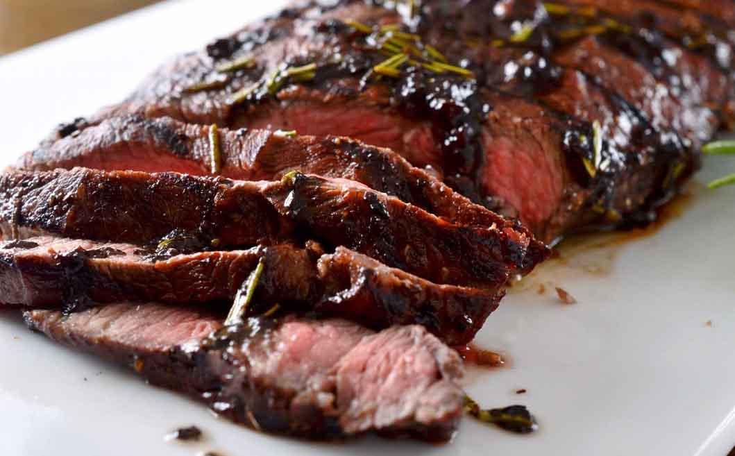 Tom's Rosemary Balsamic Skirt Steak