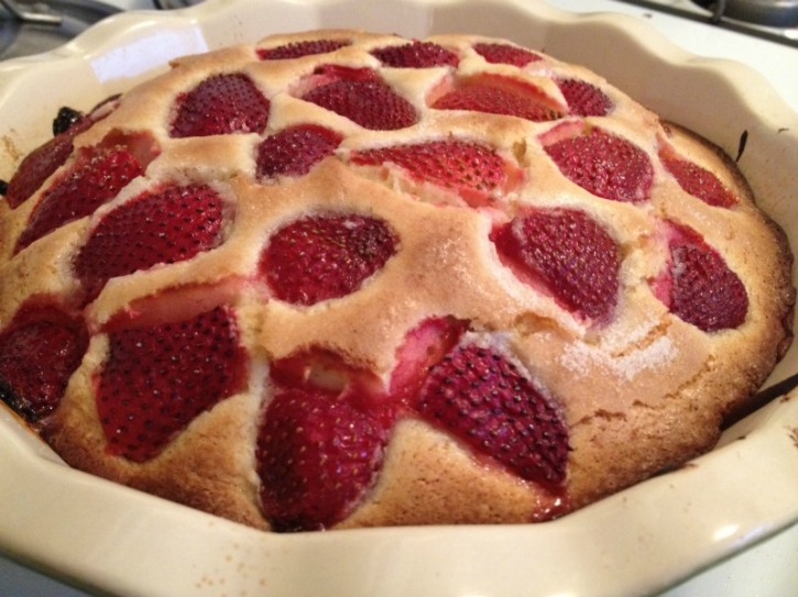 Celia's Strawberry Lemon Cake
