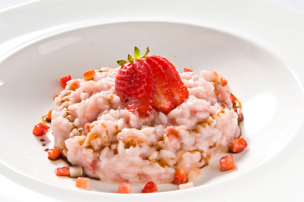 Tom's Strawberry Risotto