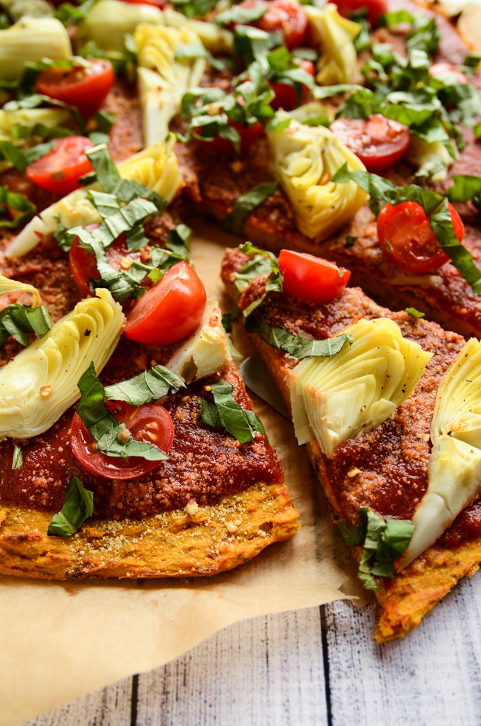 Tom's Sweet Potato Pizza Crust