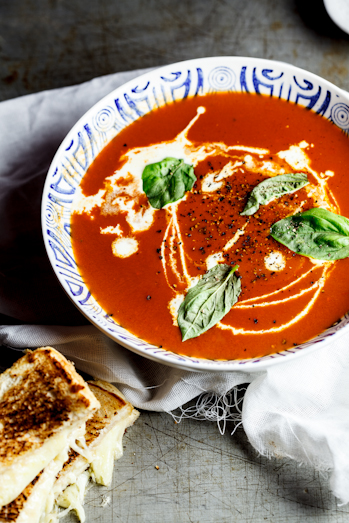 Tom's Roasted Tomato Soup & Ultimate Cheese Sandwich