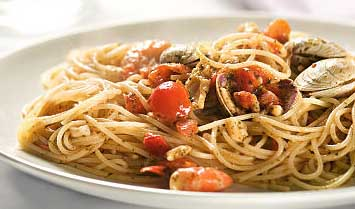 Tom's Tuscan Spaghetti